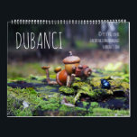 """Dubanci Calendar<br><div class=""""desc"""">Calendar with funny acorn elves living they live in World Wide Wood :)  With new photos,  that I did in 2017</div>"""
