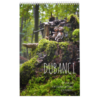 Dubanci  - single page calendar