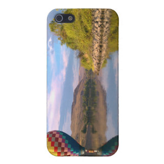 Dubble RAINBOW Hotair balloon on the snake river Cases For iPhone 5