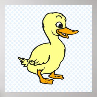 Dubby Duck Poster