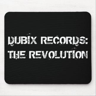 DUBIX RECORDS: THE REVOLUTION MOUSE PAD
