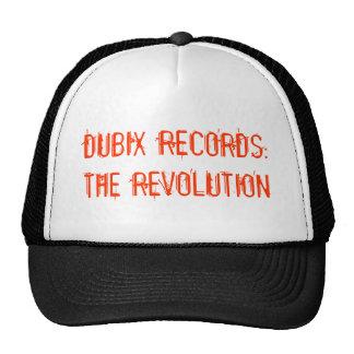 DUBIX RECORDS: THE REVOLUTION TRUCKER HAT