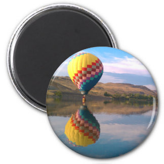 Duble Rainbow 2 Inch Round Magnet