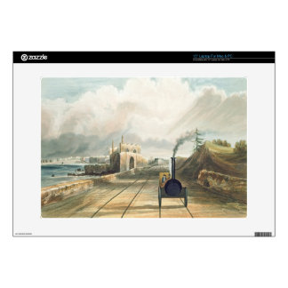 "Dublin and Kingstown Railway: From the Footbridge 15"" Laptop Skin"