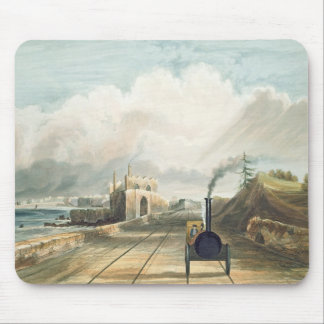 Dublin and Kingstown Railway: From the Footbridge Mouse Pad