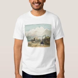 Dublin and Kingstown Railway: From the Footbridge Shirt