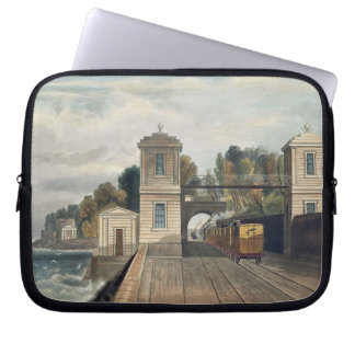 Dublin and Kingstown Railway: Granite Pavilions an Laptop Computer Sleeve