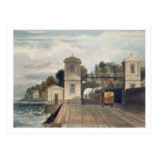Dublin and Kingstown Railway: Granite Pavilions an Postcard