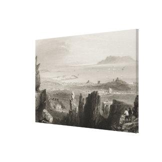 Dublin Bay from Kingstown Quarries Canvas Print