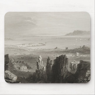 Dublin Bay from Kingstown Quarries Mouse Pad