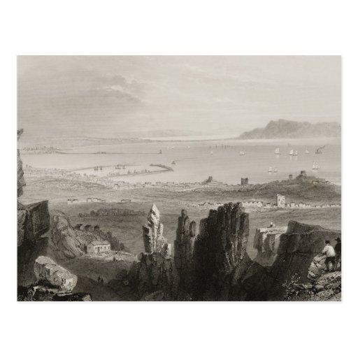 Dublin Bay from Kingstown Quarries Postcard