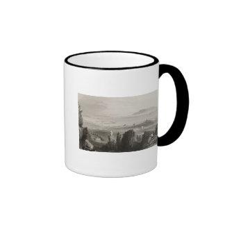 Dublin Bay from Kingstown Quarries Ringer Mug