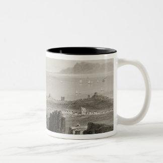Dublin Bay from Kingstown Quarries Two-Tone Coffee Mug