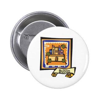 Dublin Pinback Button
