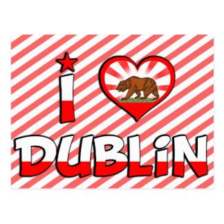 Dublin, CA Postcard