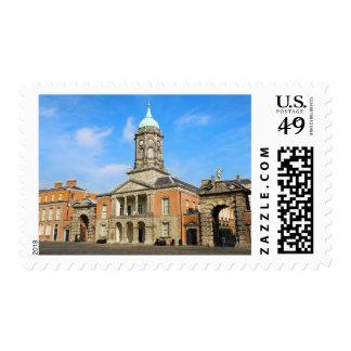 Dublin Castle in Ireland Stamp