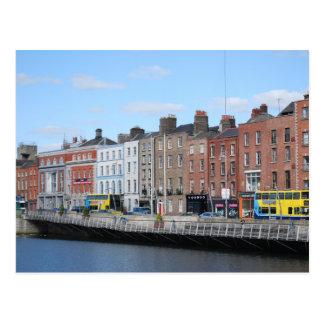 Dublin Center on the Liffey Postcard