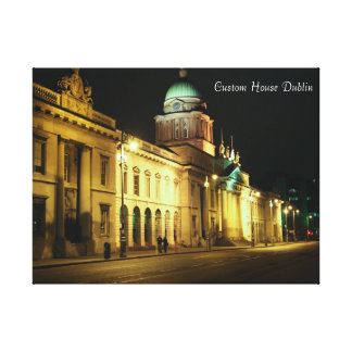 Dublin City image for wrapped-canvas Gallery Wrap Canvas