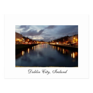 Dublin City, Ireland - Postcard