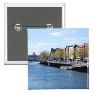 Dublin City on The Liffey Pin