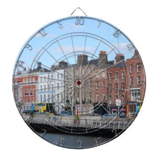 Dublin City on The Liffey Dart Board