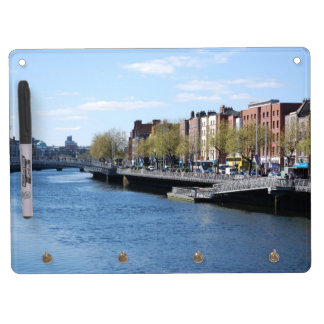 Dublin City on The Liffey Dry-Erase Whiteboards