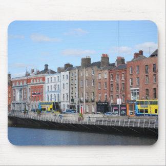 Dublin City on The Liffey Mousepads
