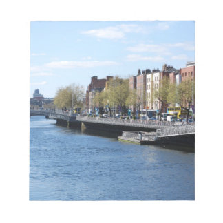 Dublin City on The Liffey Note Pads