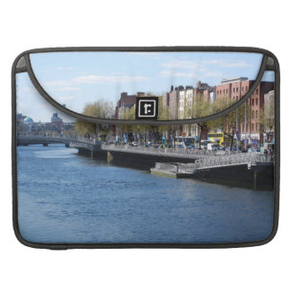 Dublin City on The Liffey Sleeves For MacBook Pro