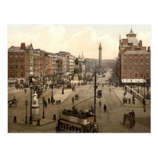 Dublin City View Postcard