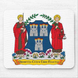 Dublin Coat of Arms Mousepad