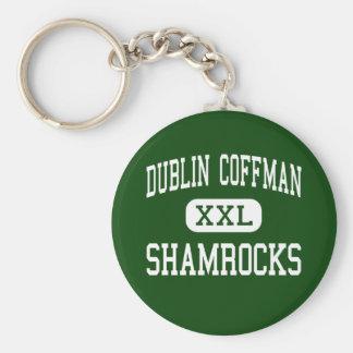 Dublín Coffman - tréboles - alto - Dublín Ohio Llaveros Personalizados