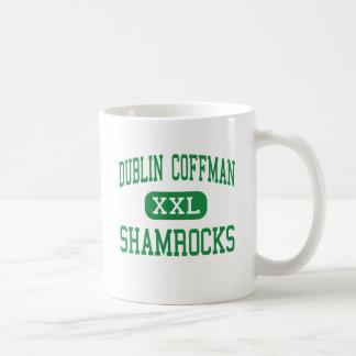 Dublín Coffman - tréboles - alto - Dublín Ohio Tazas