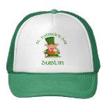 ~ Dublín del día de St Patrick Gorras De Camionero