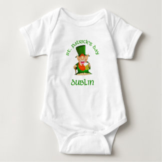 ~ Dublín del día de St Patrick Playeras