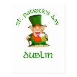 ~ Dublín del día de St Patrick Postal