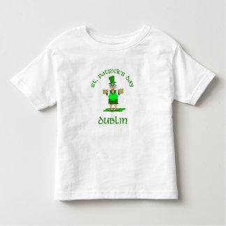 ~ Dublín del día del St Patricks Playera De Bebé