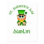 ~ Dublín del día del St Patricks Postal