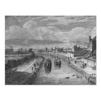Dublín del puente de Blaquiere, canal real, Tarjetas Postales