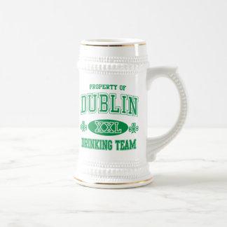 Dublin Drinking Team Beer Stein