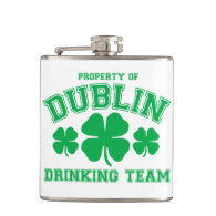 Dublin Drinking Team Flask