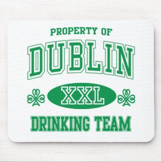 Dublin Drinking Team Mouse Pad