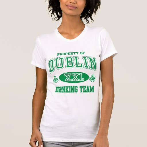 Dublin Drinking Team Tshirts