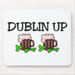Dublín encima del día del St Patricks Tapete De Ratón