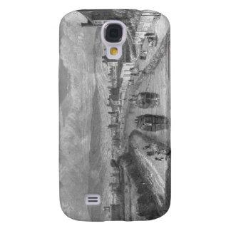 Dublin from Blaquiere Bridge, Royal Canal, Ireland Samsung Galaxy S4 Cover