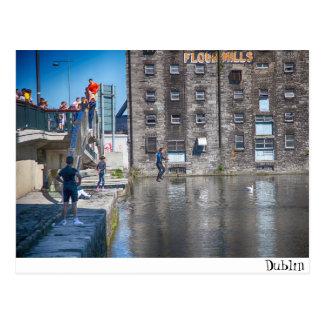 Dublin / Grand Canal Postcard