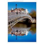Dublin Halfpenny Bridge Greeting Cards