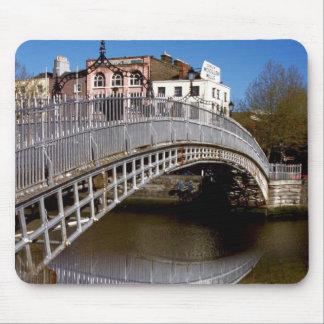 Dublin Halfpenny Bridge Mouse Pad