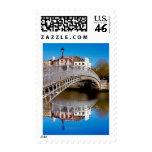 Dublin Halfpenny Bridge Postage Stamps