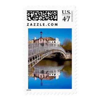 Dublin Halfpenny Bridge Stamp